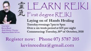 Learn Reiki – laying of hands healing