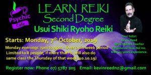 Second Degree Reiki Class