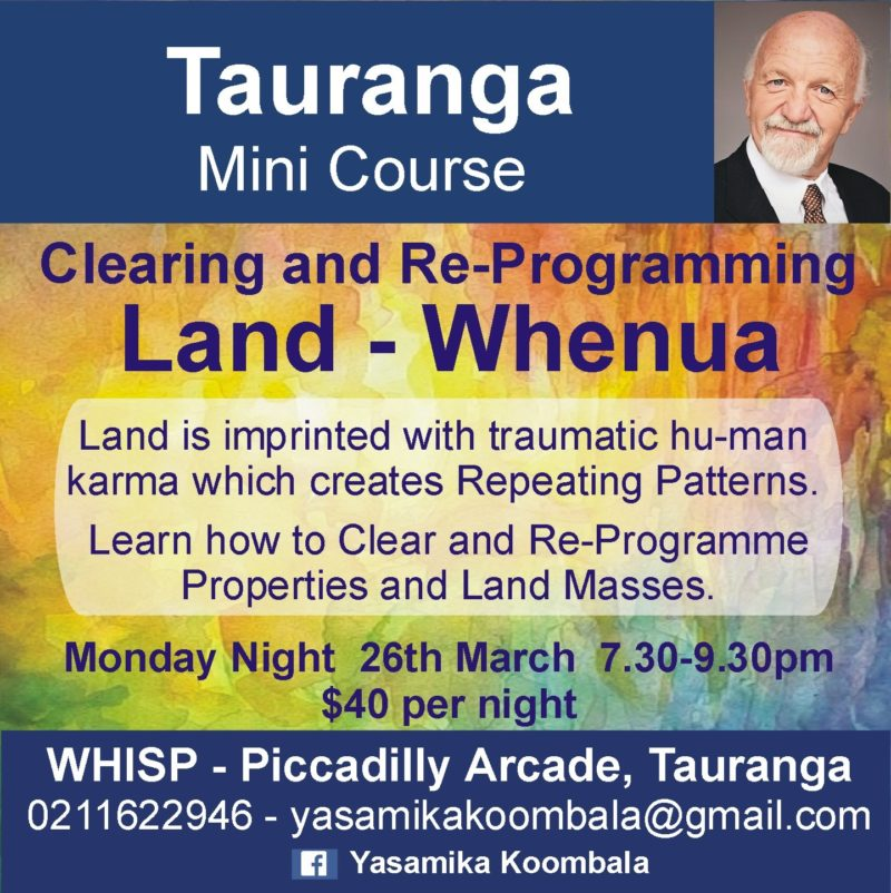 LAND – WHENUA CLEARING and REPROGRAMMING