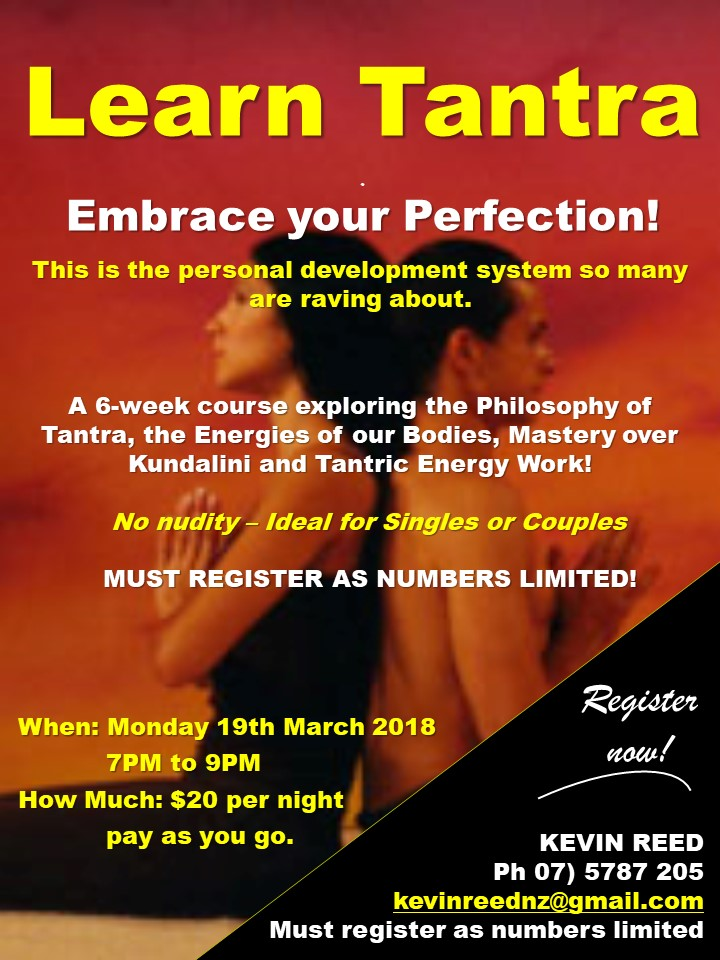 Learn Tantra – Embrace your Perfection!