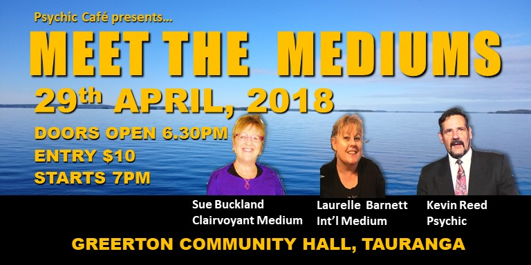 Plan ahead and make a date with Meet the Mediums coming soon!