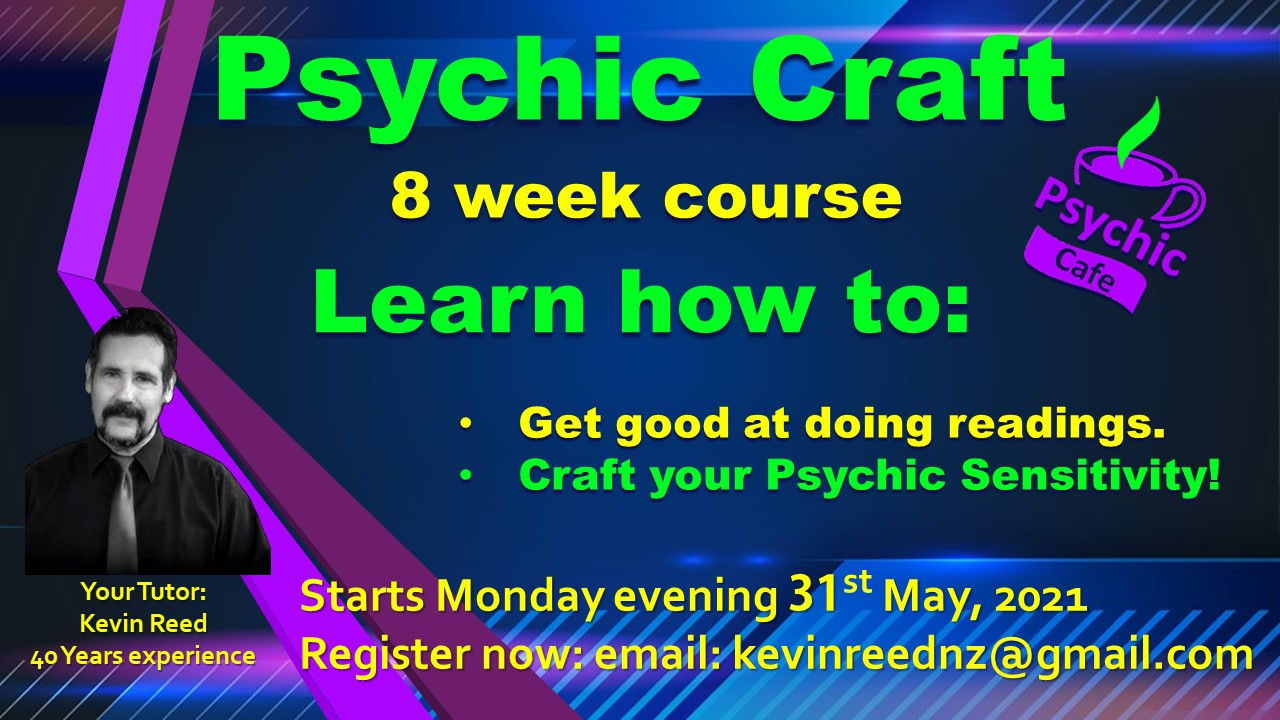 You are currently viewing See why Kevin Reed's Psychic Class is a 'must do'.