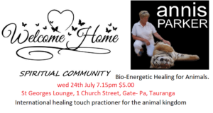 WELCOME HOME SPIRITUAL COMMUNITY PRESENTS