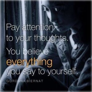 Pay Attention to Your Thoughts