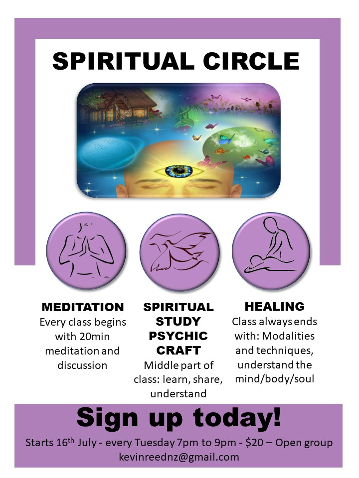 Finally, a Spiritual Development Open Circle you can attend!