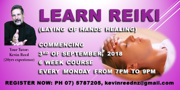 Learn Reiki – Laying of Hands Healing.