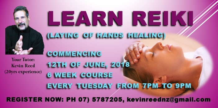 Learn Reiki – Laying on of Hands Healing