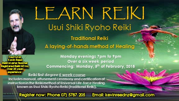 Learn Reiki – it can change your life!