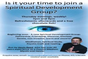 Open Pyschic/Spiritual Development Group YES YES YES