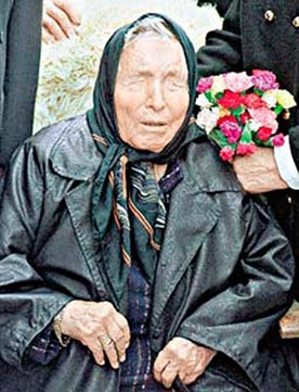 Did blind Bulgarian mystic forsee rise of Isil?
