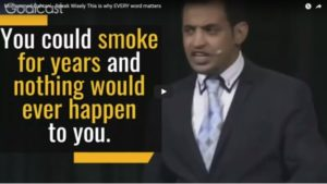 Mohammed Qahtani – Speak Wisely This is why EVERY word matters