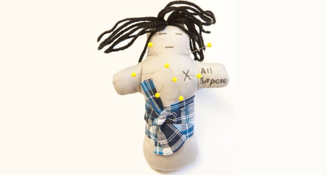 Why stabbing a voodoo doll is so satisfying